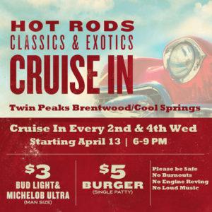 Twin Peaks Cruise in Flier