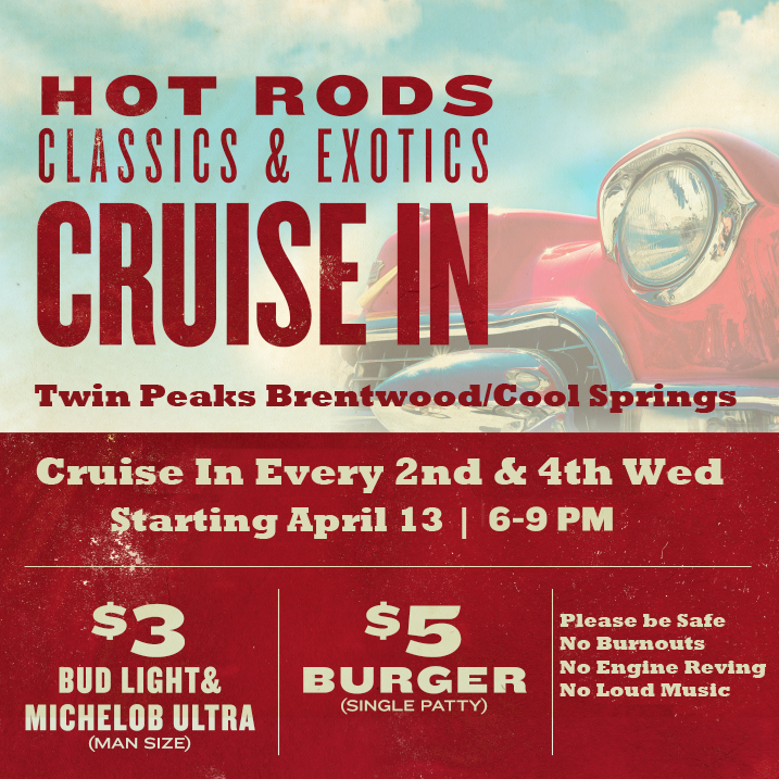 Twin Peaks Cruise in Flier